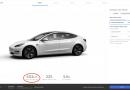 Tesla met à jour la Model 3 de base(SR+); plus de portée, plus chère!