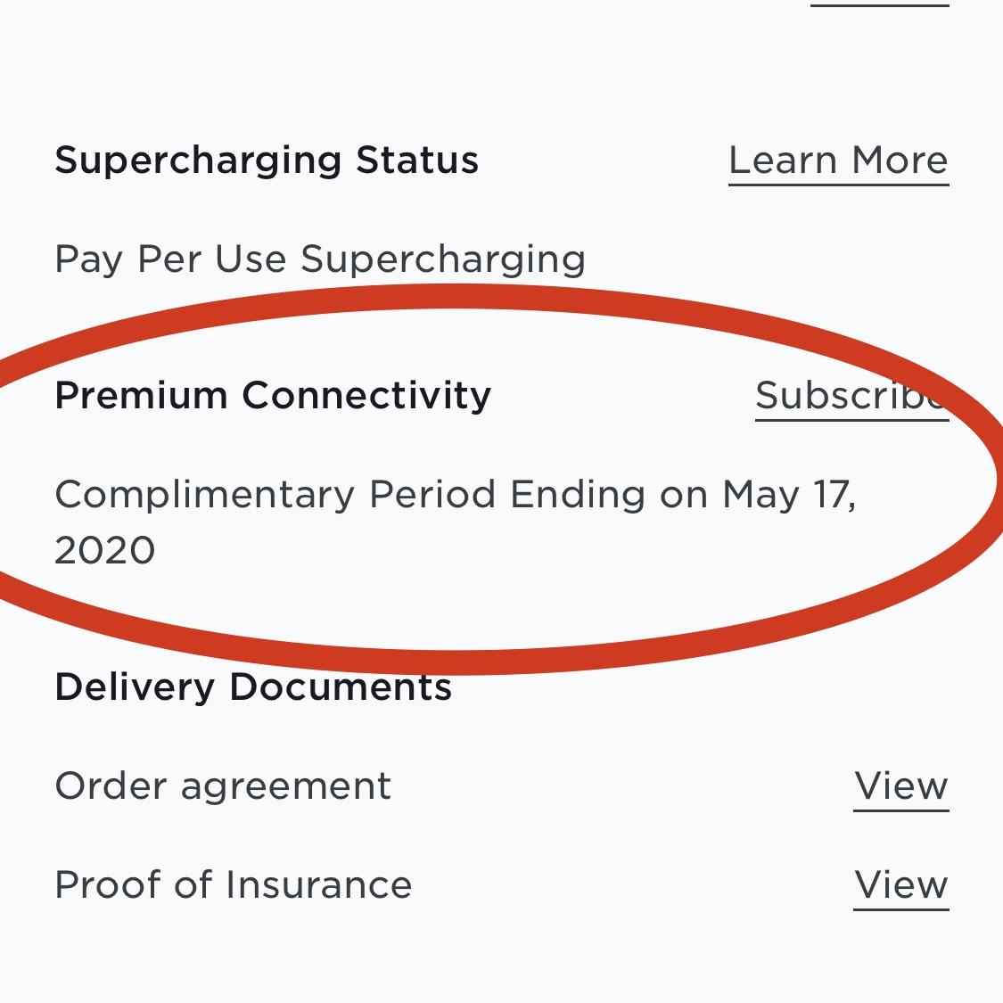 Prix de la connexion premium au Canada pour le Tesla Model 3